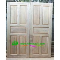 ประตูไม้สักบานเดี่ยว รหัส D03
