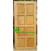 ประตูไม้สักบานเดี่ยว รหัส D04