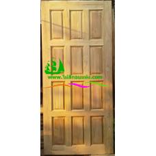 ประตูไม้สักบานเดี่ยว รหัส D06