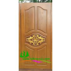ประตูไม้สักบานเดี่ยว รหัส D08