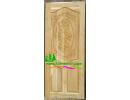 ประตูบานเดี่ยว ไม้สักอบแห้ง D13