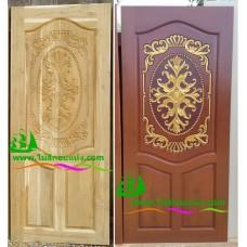 ประตูไม้สักบานเดี่ยว รหัส D13