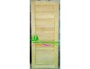 ประตูบานเดี่ยว ไม้สักอบแห้ง D14