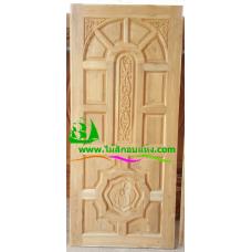ประตูไม้สักบานเดี่ยว รหัส D15