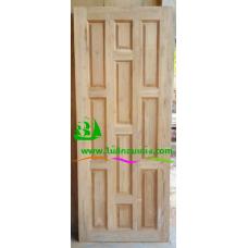 ประตูไม้สักบานเดี่ยว รหัส D16