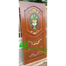 ประตูไม้สักบานเดี่ยว รหัส D25