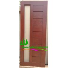 ประตูไม้สักบานเดี่ยว รหัส D31