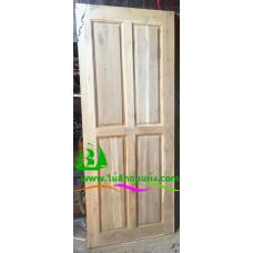 ประตูไม้สักบานเดี่ยว รหัส D45