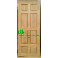 ประตูไม้สักบานเดี่ยว รหัส D51