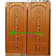 ประตูไม้สักบานเดี่ยว รหัส D57