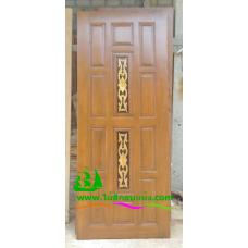 ประตูไม้สักบานเดี่ยว รหัส D59