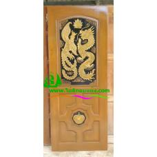 ประตูไม้สักบานเดี่ยว รหัส D62