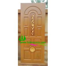 ประตูไม้สักบานเดี่ยว รหัส D80