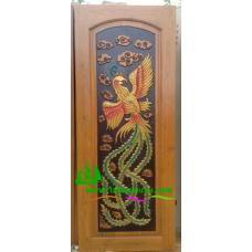 ประตูไม้สักบานเดี่ยว รหัส D88