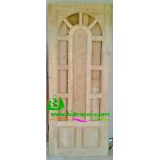 ประตูไม้สักบานเดี่ยว รหัส D97