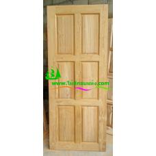 ประตูไม้สักบานเดี่ยว รหัส D99