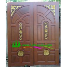 ประตูไม้สักบานคู่ รหัส DD31