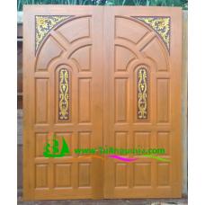 ประตูไม้สักบานคู่ รหัส DD32