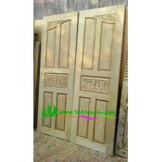 ประตูไม้สักบานคู่ รหัส DD40