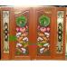 ประตูไม้สักบานคู่ รหัส DD47
