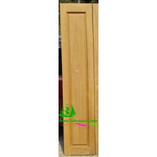 ประตูบานเฟี้ยมไม้สัก รหัส F07