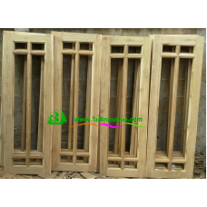 หน้าต่างไม้สัก   รหัส W24